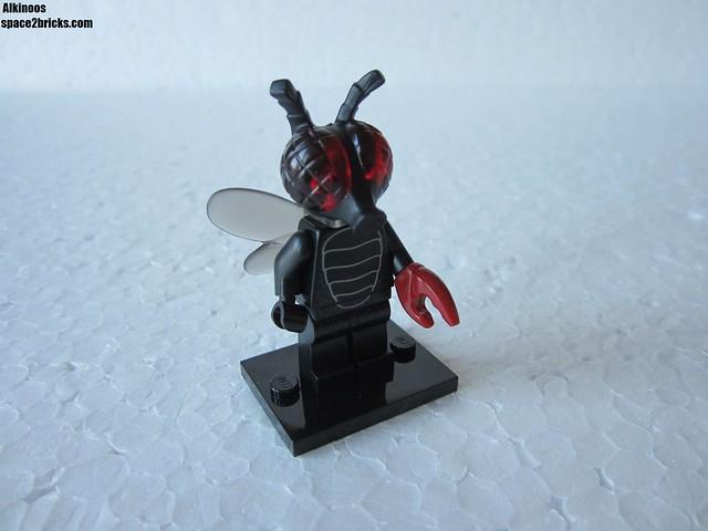 Lego Minifigures S14 homme mouche