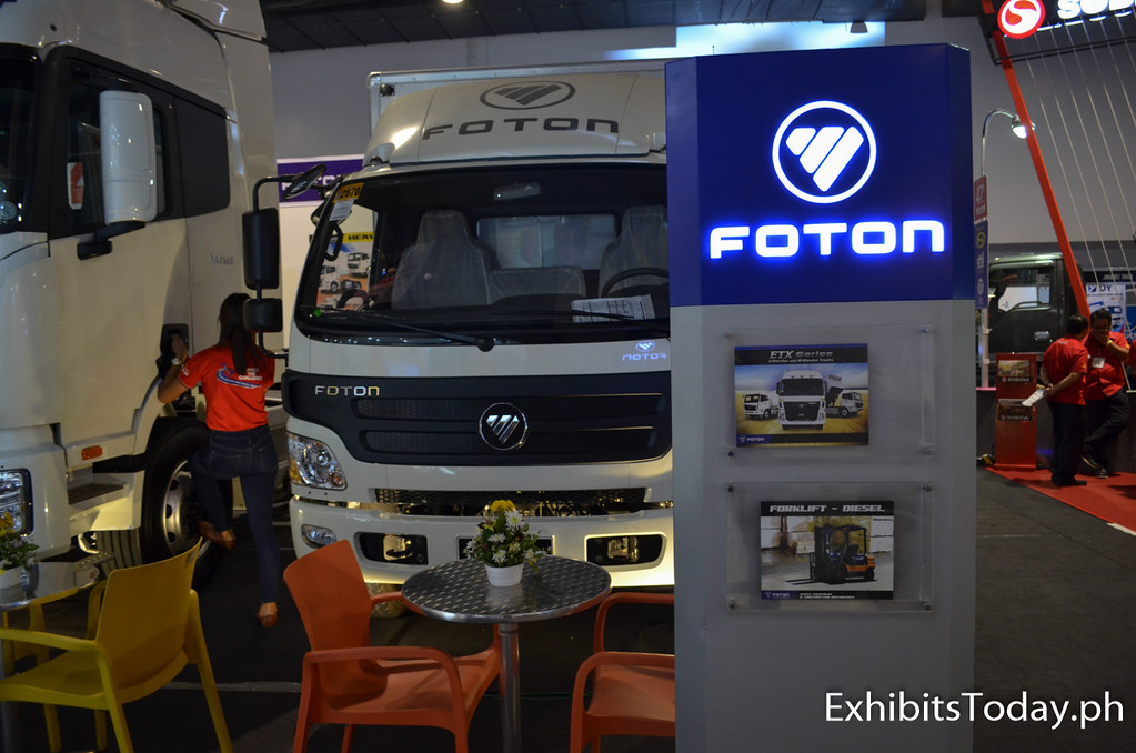 Foton Trucks Exhibit Pavilion
