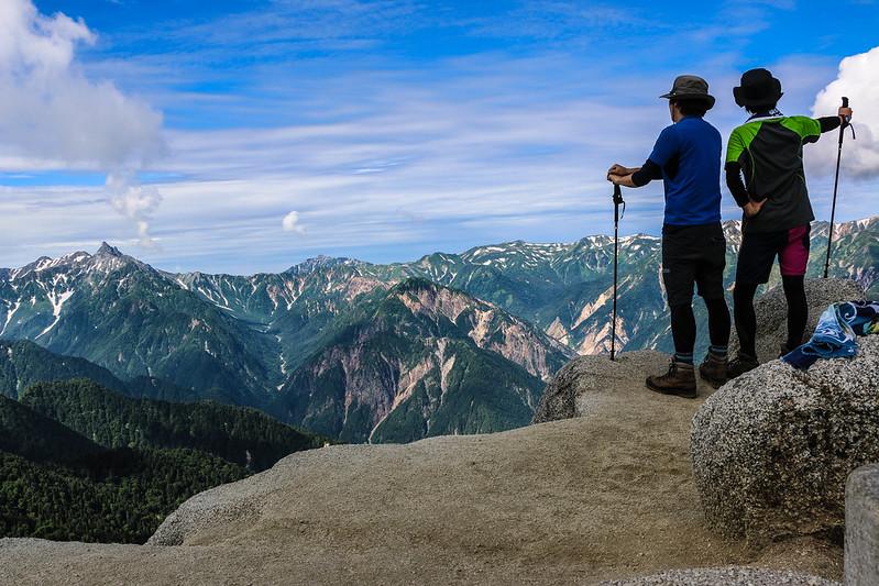 燕岳の集合写真