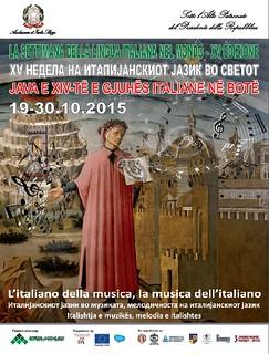 Apertura XV Settimana della Lingua Italiana nel Mondo