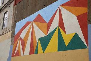 One of the Murals on the Open Sky Museum by Ramon Vergara-Grez