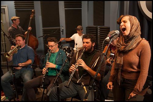 Smoking Time Jazz Club at the WWOZ Fall Pledge Drive 2015. Photo by Ryan Hodgson-Rigsbee - www.rhrphoto.com