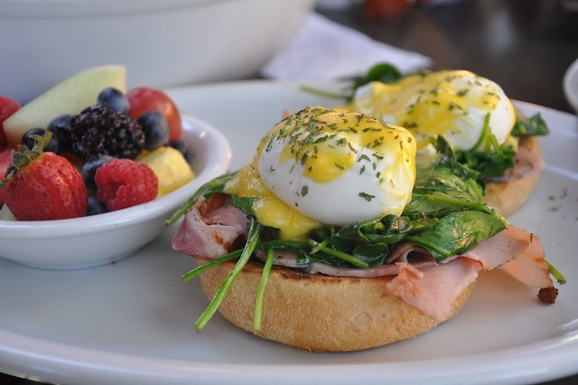 Alcove Cafe and Bakery Kinda Classic Eggs Benedict