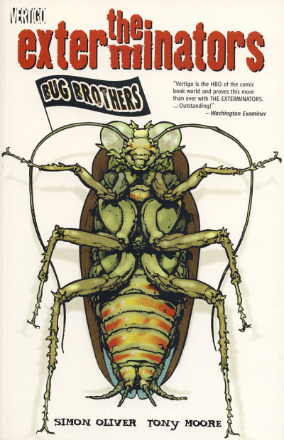 Exterminators Vol. 1: Bug Brothers, Cover