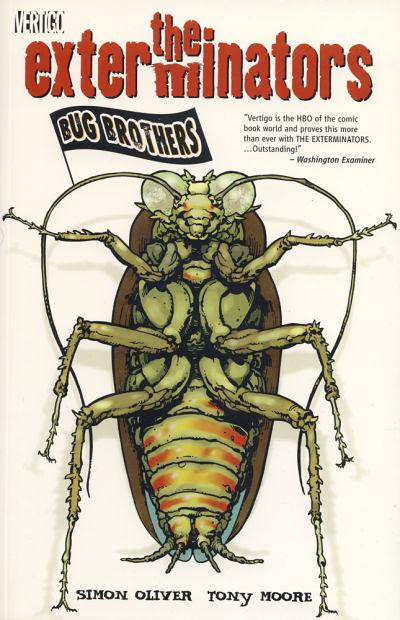 Exterminators Vol. 1: Bug Brothers, Cover