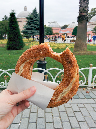 simit and Hagia Sophia