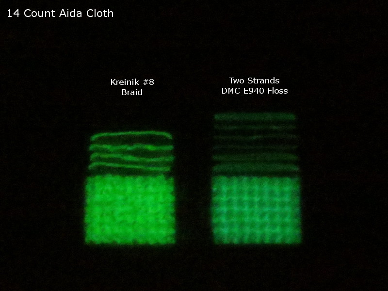 14 ct aida comparison dark 0 seconds