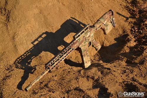 Military OCP AR 15