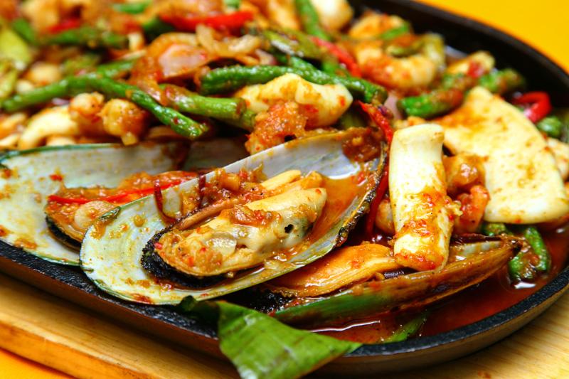 Crab Sifu Hot Plate Seafood