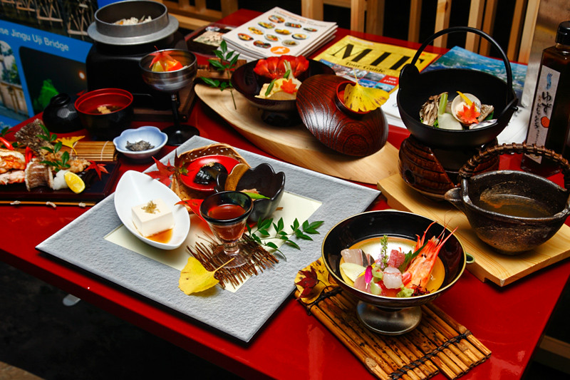 Sasagawa Taste Of Mie Special Dinner Course