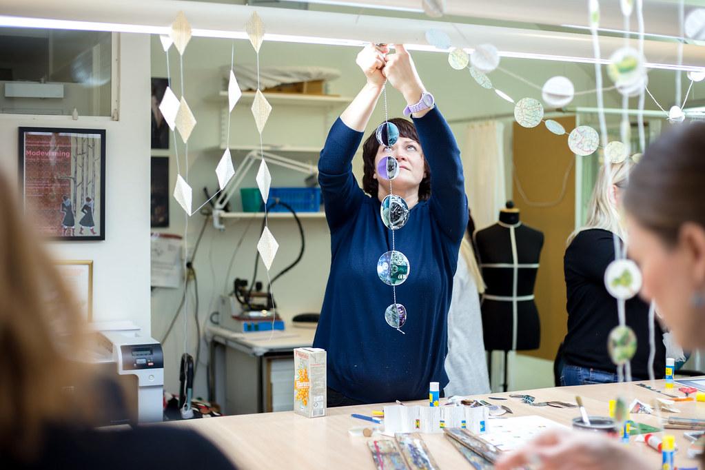 DIY workshop at Folkuniversitetet