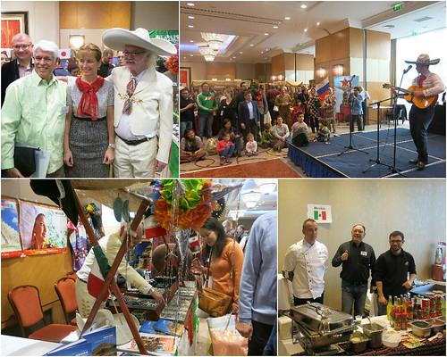 Participación mexicana en la V Feria Diplomática