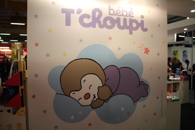 Bébé T'choupi #cutenessoverload - Salon du Livre et de la Presse Jeunesse (SLPJ) - Montreuil