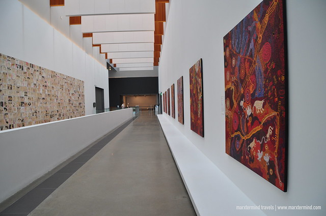 Visiting Gallery of Modern Art Brisbane