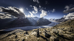 Swiss Alps: Great Aletsch Glacier