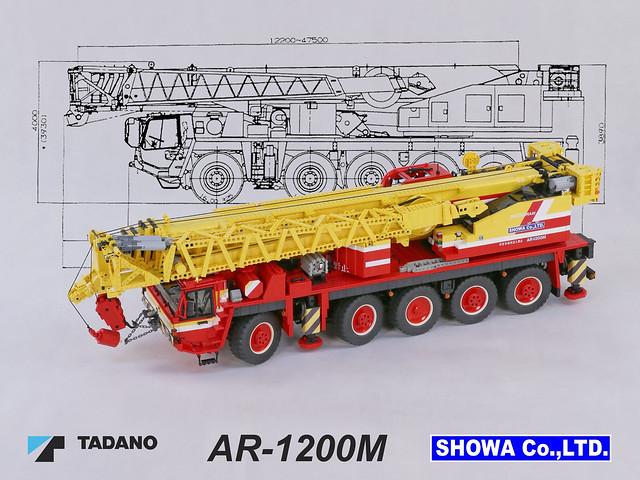 Tadano AR-1200M Mobile Crane 01