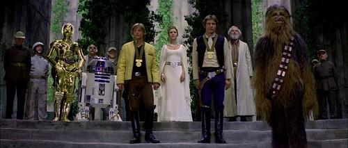 Luke Han Leia