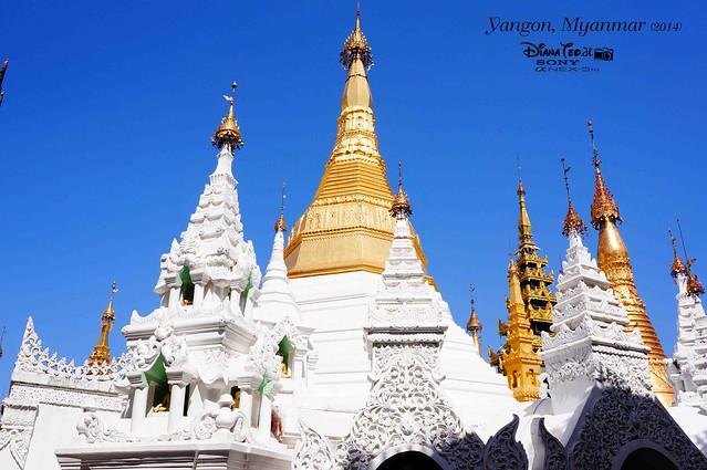 Myanmar, Yangon Shwedagon Pagoda 01