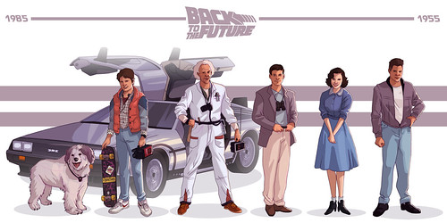 Back to the Future - Trilogy - Evolution - Characters