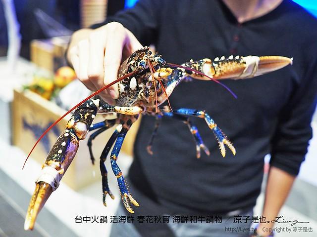 台中火鍋 活海鮮 春花秋實 海鮮和牛鍋物 27