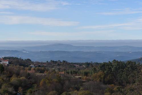 West from Vila Nova, Coimbra. central Portugal