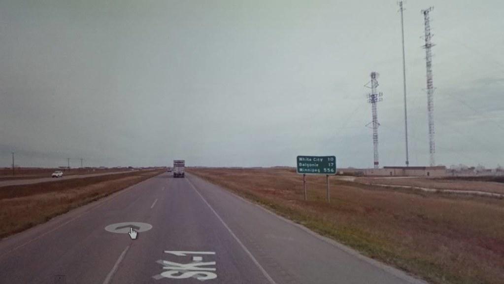 556km to Winnipeg. #letsdothis #ridingthroughwalls #xcanadabikeride #googlestreetview