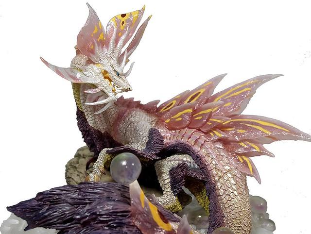 【更新官圖&販售資訊】~妖豔之舞~ CFB《魔物獵人X》Creator's Model 泡狐龍 タマミツネ 雕像 一般版/憤怒版