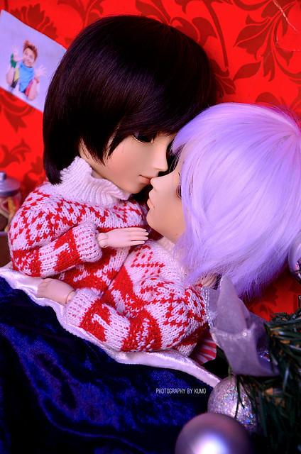 Christmas Kiss ~   Taeyangs Alberic & Arion