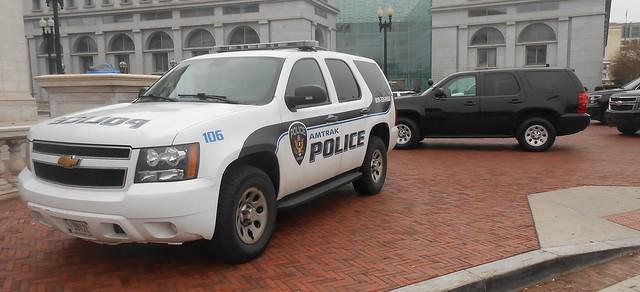 Amtrak Police at Union Station