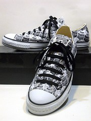 Converse X Andy Warhol Campbell's Soup Cans - White & Black Ox 147054F