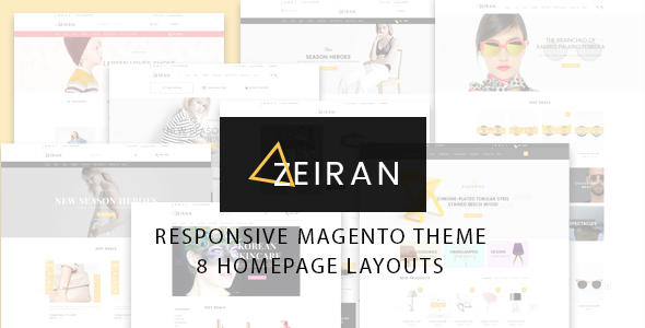 Zeiran v1.0 - Multipurpose Responsive Magento Theme