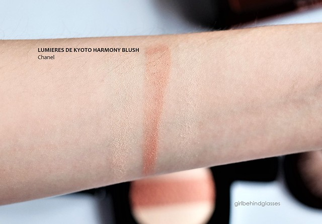 Chanel Lumieres de Kyoto Blush Harmony swatch