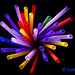 Colorful drinking straws por Gema Ibarra by GemaIbarra1