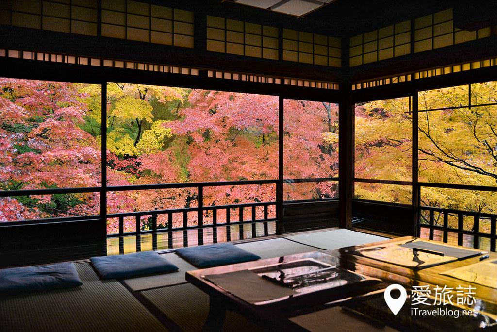京都赏枫景点 琉璃光院 20