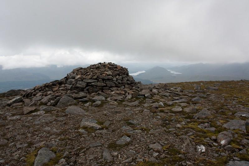 Summit of Chno Dearg
