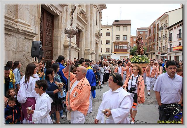 Briviesca en Fiestas 2.015 Procesión del Rosario y canto popular de la Salve (4)