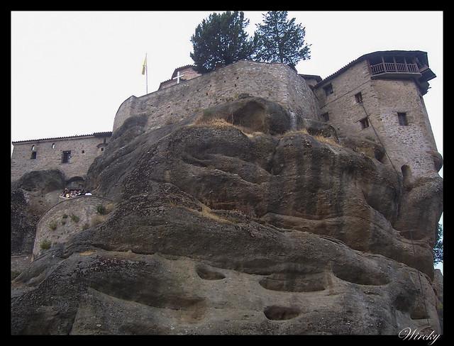 Grecia Kalambaka Meteora Termópilas Atenas - Monasterio Varlaam en Meteora