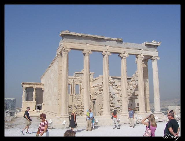 Grecia visita Atenas - Templo Erecteión