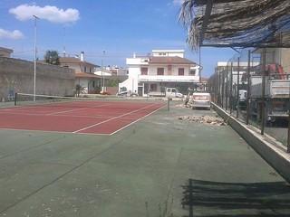 Il vecchio campo da tennis di Casamassima