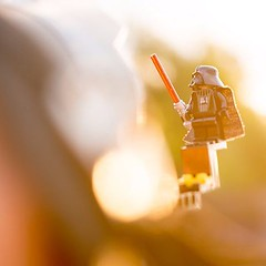 Behind the camera #baltictoysafari @stuckinplastic #toy #darthvader #darth #lego #backlight #meta #minifig #nikon #starwars