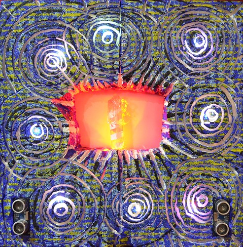 _ Electroanimita en memoria de Vincent van Gogh_Yto_2013_30 cm x 30 cm _ pintura_electronica_interactiva_PEK