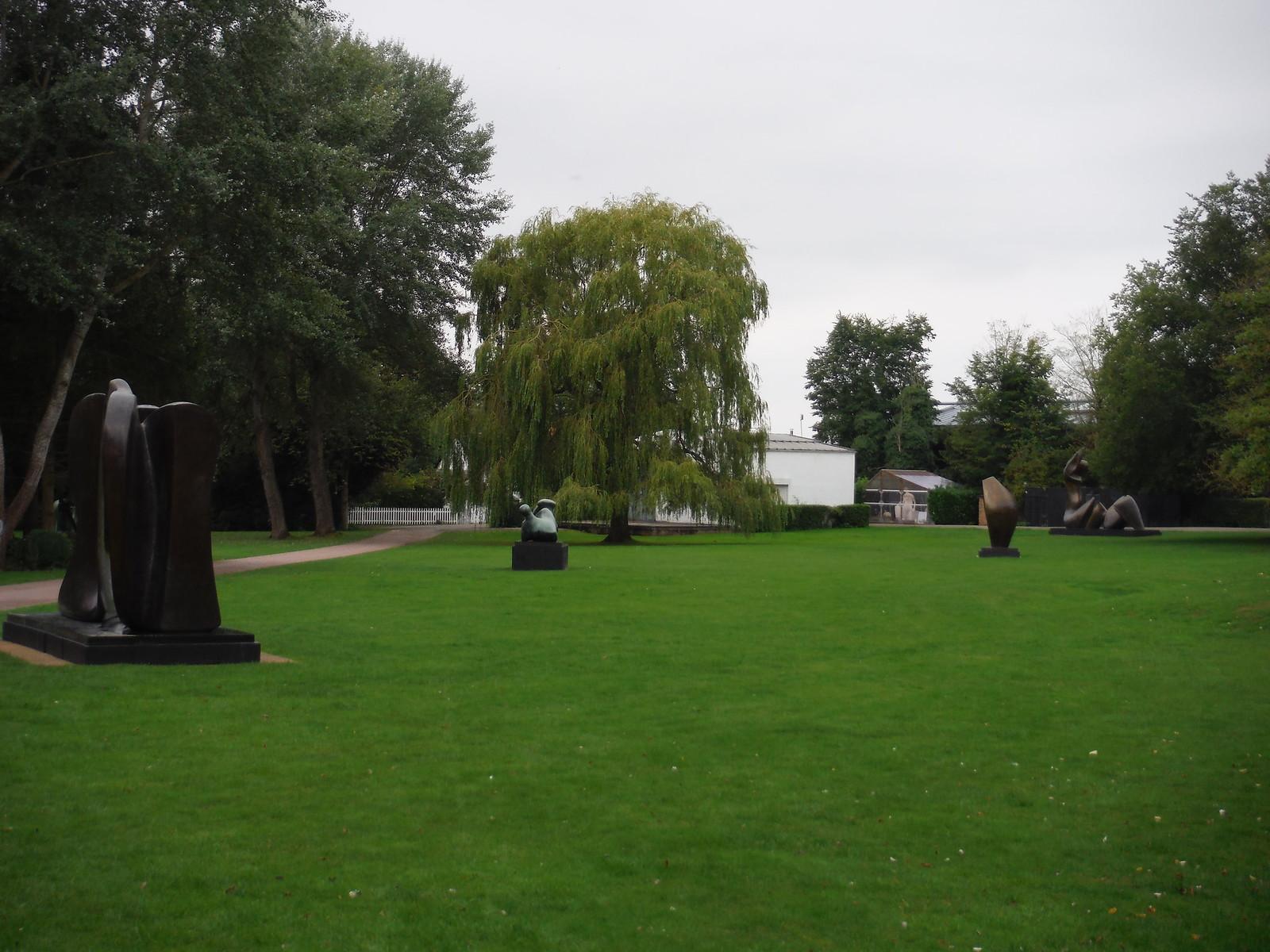 Hoglands, Garden Lawn SWC Walk 164 Roydon to Sawbridgeworth via Henry Moore Foundation
