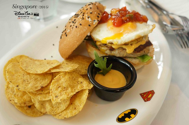 DC Comics Super Heroes Cafe Singapore 14