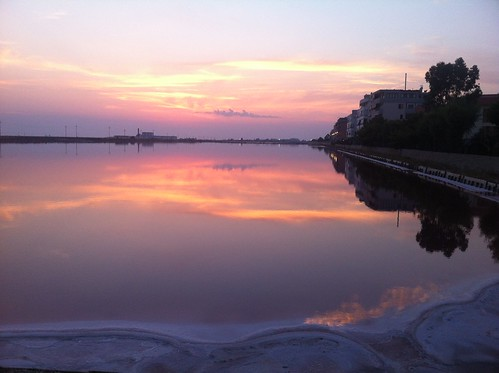 pink friends sunset sea holiday mirror crazy salt days salty