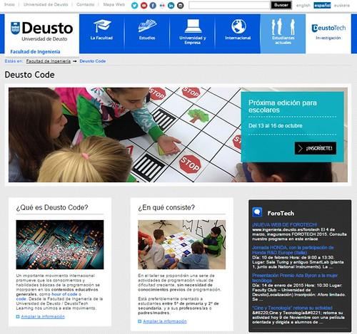 Deusto CodeWeek 2015