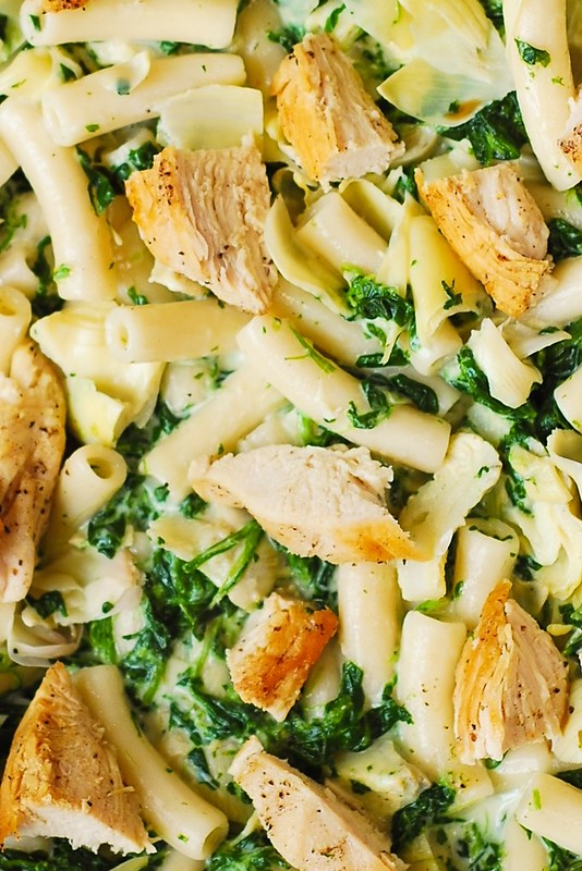 Recipes for chicken vegetables and pasta