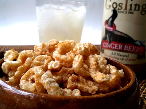 Chicharron And Ginger Beer