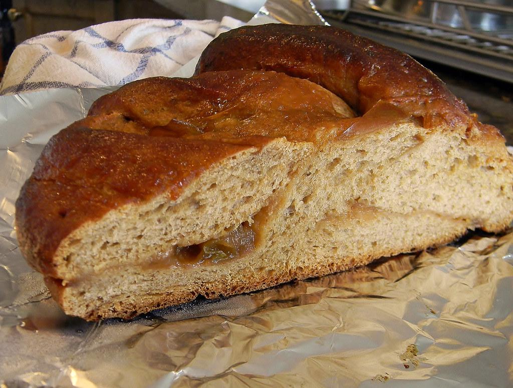 Butterscotch Apple Twist Bread