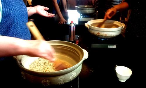 黒焼き玄米茶1