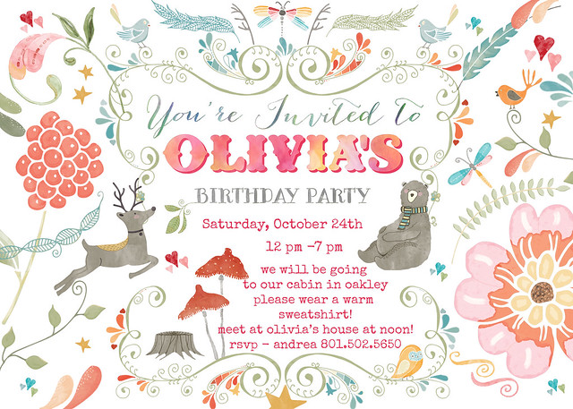 10th Birthday Pary Invitation